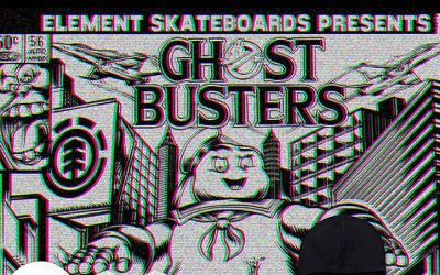 Element x Ghostbusters dispo au magasin