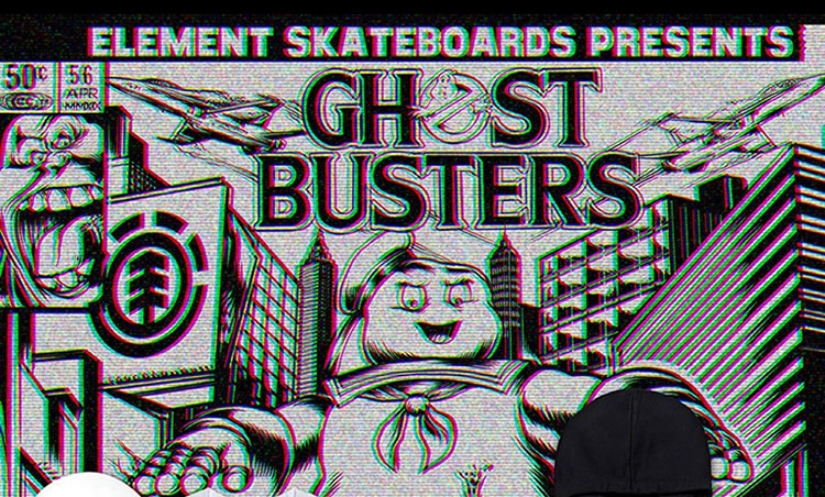 Element x Ghostbusters dispo au magasin