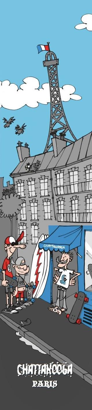 Chattanooga Paris comics